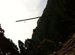会社近くの木材搬出風景 015.jpgのサムネール画像